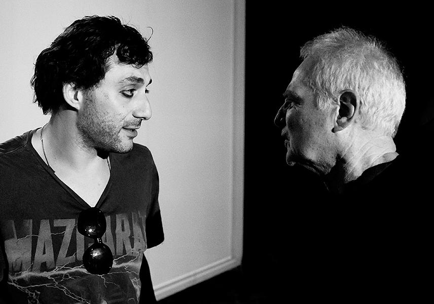 Filippo Timi and Frank Lisciandro